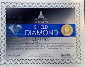 Aero Shield Diamond Certified
